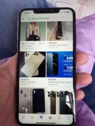 Título do anúncio: iPhone 11 Pro Max, vendo ou troco pelo 12 pro max