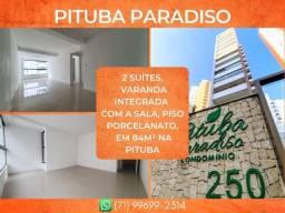 Título do anúncio: Pituba Paradiso, 2 suítes em 84m² com 2 vagas de garagem na Pituba - Glamoroso