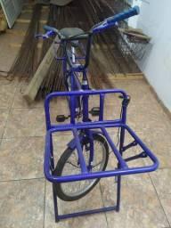 Bicicleta de carga semi novo em perfeito Estado