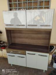 Armário de cozinha Cleo 8 portas 1 gaveta novo entrego e monto