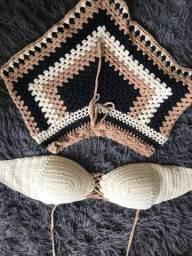 Conjunto em tricô