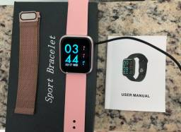 VENDO RELÓGIO SMARTWHATCH ROSE - 42MM - NOVO