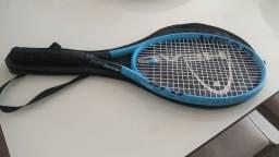 Título do anúncio: Raquete de Tênis Head Instinct MP 5 meses de uso com capa