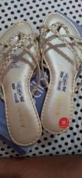sandalinha nova nunca usada 40 reais