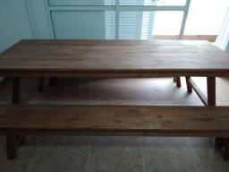 Título do anúncio: Mesa em madeira