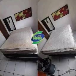 Título do anúncio: Limpeza e higienizaçao colchão de casal (Go)
