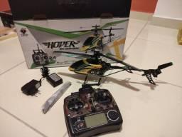 Título do anúncio: Helicóptero 4 canais WLtoys usado