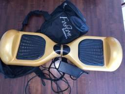 Hoverboard com bluetooth dourado