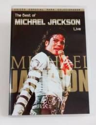Título do anúncio: DVD The Best of Michael Jackson Live em perfeito estado