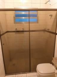 Título do anúncio: Box de vidro temperado para banheiro 1,60 largura chama no zap