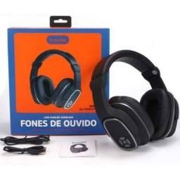 Fone De Ouvido Caixa De Som Bluetooth Com Microfone - 8415