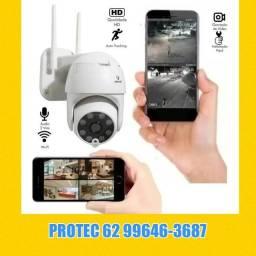 Título do anúncio: Camera Wifi Inteligente 360°
