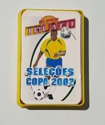 Card Super Trunfo Coleção Antigo Grow Seleções Copa 2002 Original