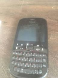Celular Nokia Asha 201 - usado, não liga