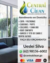 Título do anúncio: Lava a seco, Higienização e Hidratação em Couros em Geral