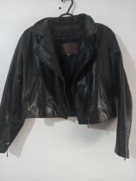 Título do anúncio: Jaqueta de couro legítimo feminina