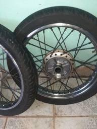 Jogo de roda cg 150