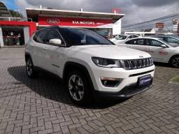 JEEP COMPASS LIMITED 4X2 2.0 16V AT6 Branco 2018/2018