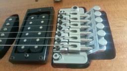 Guitarra samick microafinação