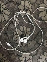 Fone de ouvido IPhone 7 original