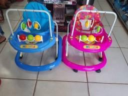 Andador Bebê Infantil Menino Toy Azul rosa - Tutti Baby<br><br>