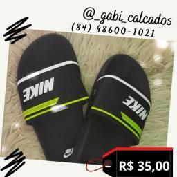 Chinelo slide Nike Adidas Fila