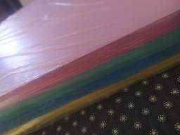 Kit sulfite colorido A4