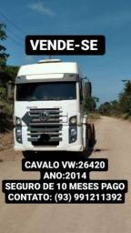 Título do anúncio: CAVALO VW 26420 TRAÇADO