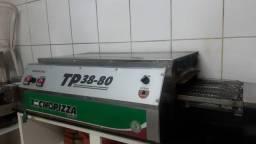 Forno pizza elétrico de esteira