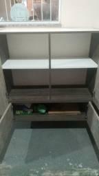Barbada armário em MDP