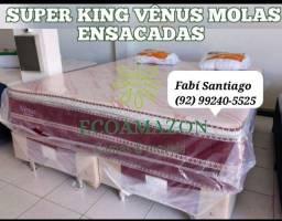 Título do anúncio: Cama super king + travesseiros estamos **_**//