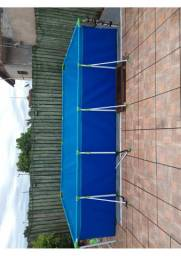 piscina de plastico 10000  com  filtro mor 1
