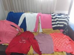 Blusões diversos - R$50 cada