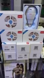 Título do anúncio: Camera Seguraca Lampada Vr 360 Panoramica Espia Wifi Ipega