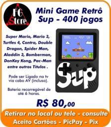 Mini game 400 Jogos SUP - Retrô