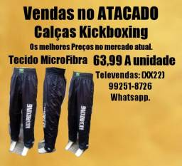 Calças Kickboxing Padrão Profissional Diversos tamanhos Vendas atacado
