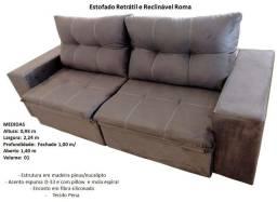 Título do anúncio: Sofá Retrátil e reclinável a pronta entrega.
