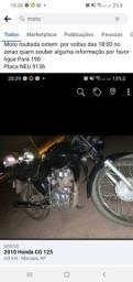 Título do anúncio: Moto roubada placa NEU 9136