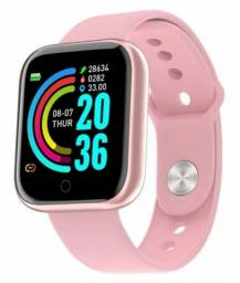 Relógio smartwatch D20 bluetooth Android IOS