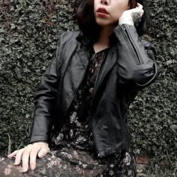 Título do anúncio: Jaqueta de couro vintage perfecto preta