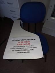 Cadeira Estilo Universitária.