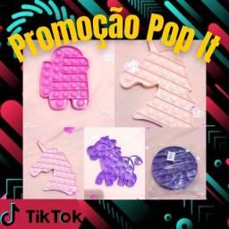 Promoção de Brinquedo Anti-estresse Pop It - Brinquedo do Tik Tok - Pronta Entrega