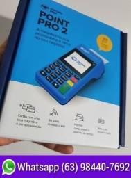 Título do anúncio: Máquina de cartão Point Pro 2 Nova lacrada