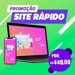 Título do anúncio: Criação de sua Sites Online + Hospedagem Grátis + Dominio Grátis