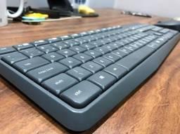 Teclado e mouse logitech k235 sem fio Muito NOVO