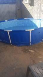 Título do anúncio: piscina de plástico  6400 litros