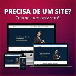 Título do anúncio: Criação de sua Sites + Hospedagem Grátis + Dominio Grátis + Sem Mensalidades