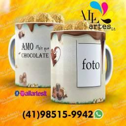 Caneca + chocolate ?