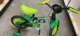 Título do anúncio: Venha já Dia das Crianças Bicicleta infantil aro 12 nova