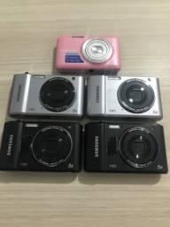 Câmeras digital e filmadora Samsung( faça a sua oferta)